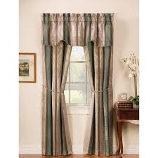 arlee home fashions tuscan stripe jacquard blackout panel pair