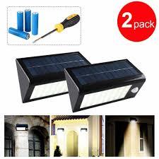 Amazon Outdoor Lighting Grde 400 Lumens 32 Led Solar Powered Pir Motion Sensor Light