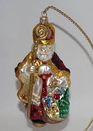 kurt adler polonaise glass bishop ornament poland