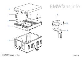 bmw e30 fuse box diagram fuse box bmw 3 e30 318i m40 europe