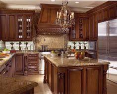 Dark Cherry Kitchen Cabinets Traditional Dark Wood Cherry Kitchen Cabinets Style Pinterest