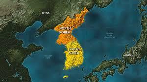 Map Of World Korea by American Detained On Bank Of River Bordering North Korea Ktla