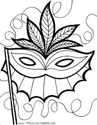 mardi gras mask printable kids coloring europe travel guides com