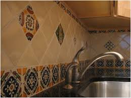 mexican tile kitchen ideas talavera tile kitchen backsplash buy best 25 spanish tile