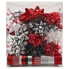 christmas wrapping bow christmas ribbon bow set gift wrapping ribbons bows ebay