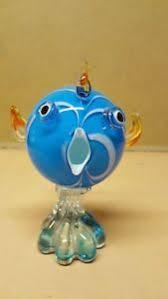 glass fish ornament ebay