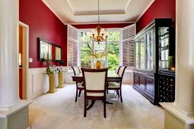 dining room puny red dining room 19 designs photos on red dining