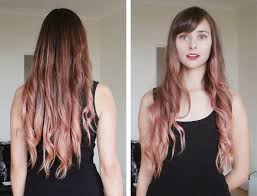 ombre hair growing out pastel pink ombre with la riche in carnation pink kokoluxe