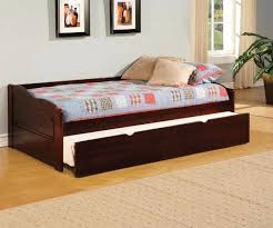 daybeds with trundles coaster daisy bookcase wood daybed with