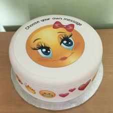 emoji emoticon edible icing cake topper 15 u2013 the caker online