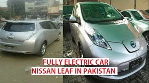 nissan leaf battery for sale nissan leaf in pakistan electric car details price youtube