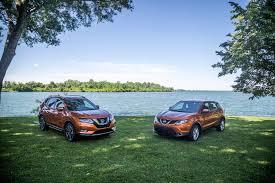 nissan qashqai vs subaru xv first drive 2017 nissan qashqai canadian auto review