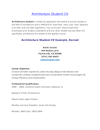 Architectural Resume Sample by 28 Architecture Student Cover Letter Cover Letter For Job