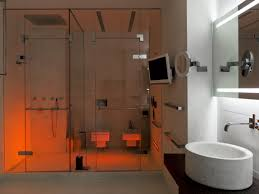 bathroom and shower room design at modern triumph palace apartment