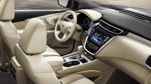 nissan murano interior 2017 2018 nissan murano features nissan usa