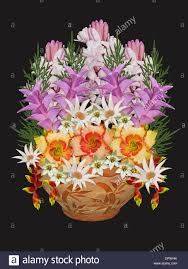 spectacular floral art with bouquet of mauve white pink and