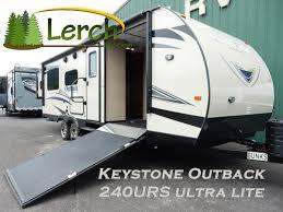 lerch rv com keystone outback 240urs ultra lite travel trailer rv