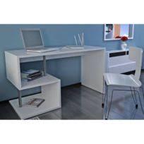 bureau laqué blanc brillant bureau blanc brillant achat bureau blanc brillant pas cher rue