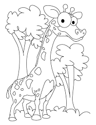 kidscolouringpages orgprint u0026 download giraffes coloring pages