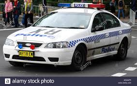 new south wales police car sydney australia stock photo royalty