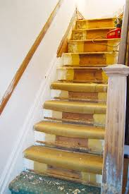 Stripping Paint From Wood Banisters Diy Staircase Restoration