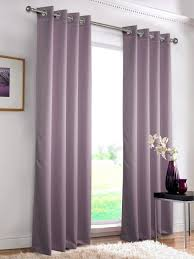 Purple Ombre Curtains Interior Lavender Blackout Curtains With Sheer Valance For Window