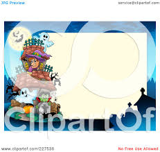 royalty free rf clipart of halloween borders illustrations