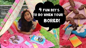 4 fun diy u0027s to do when you u0027re bored youtube