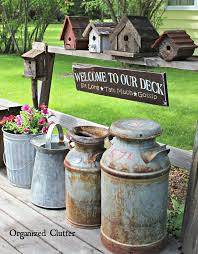 best 25 vintage garden decor ideas on planter ideas