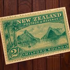 vintage home decor nz milford sound postace revenue sts new zealand nz vintage retro