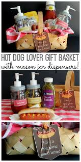 gift basket themes hot dog lover gift basket idea favecrafts