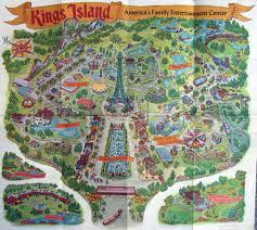 Map Of Cincinnati Ohio by Theme Park Brochures Kings Island Theme Park Brochures
