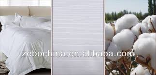 hotel bedding linen supplier 100 cotton plain white bed sheets