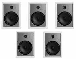 in wall speakers home theater pioneer vsx 831 receiver w polk audio mc85 in wall speakers bundle