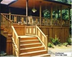 Deck Stair Handrail Height Deck U0026 Porch Railings Westchester Ny 914 736 7500