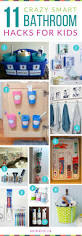 Small Bathroom Organization by Best 25 Kids Bathroom Storage Ideas On Pinterest Kids Bathroom