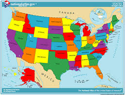 united states map with states on it geography us maps with states