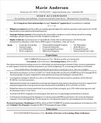 Best Accounting Resume Accountant Resume Professional Curriculum Vitae Resume Template