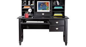 Belmar Black 2 Pc Desk And Hutch