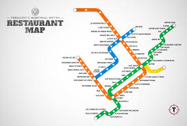 Green Line Metro Map by Montreal Metro Restaurant Map Montreal Restaurants Near Stations