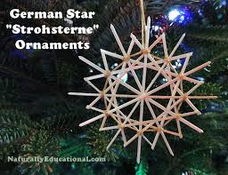 german straw ornaments naturally educational