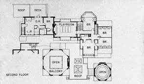 Studio Floor L Second Floor Plan House Frank Lloyd Wright Home And Studio Oak