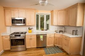 light maple shaker cabinets kitchens from boston building resources boston building resources