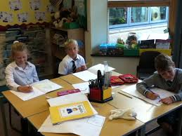 year 2 painting characters from their story mountains shoreham