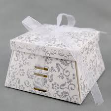 boite a gateau mariage 50 boîtes à gâteaux pour faire part mariage baptême motif floral