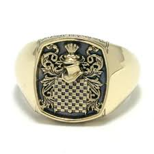 family ring gordon jeweller family crest rings