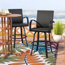 Bar Height Patio Chairs by Patio Bar Stools You U0027ll Love Wayfair