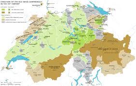 Map Of Italy And Switzerland by Early Modern Switzerland Wikipedia