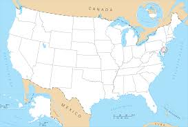 Blank Map Of Usa States by Economy Intermediate Us World Political Classroom Map Diagram