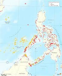 Philippine Map Map Of Rrsea Philippines U2022 Mapsof Net